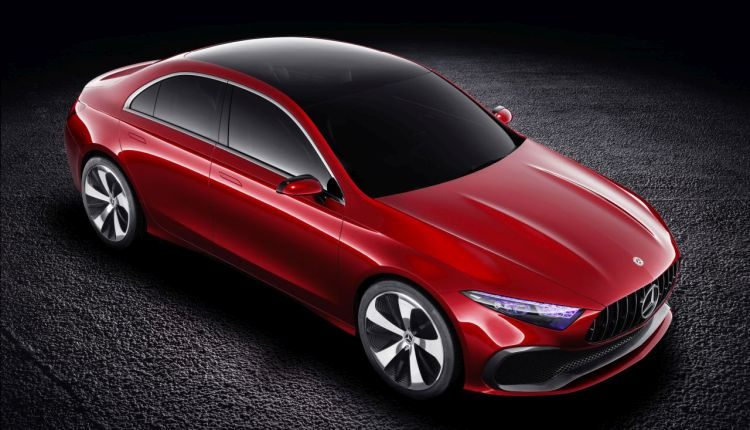 Dit is de Mercedes Concept A Sedan