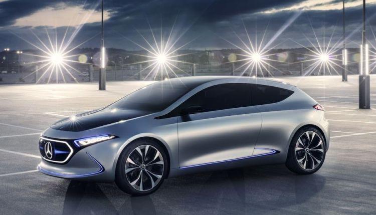 Zeg hallo tegen de Mercedes EQA Concept