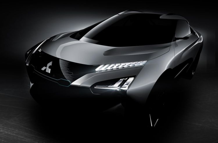 Dit is de Mitsubishi e-Volution Concept