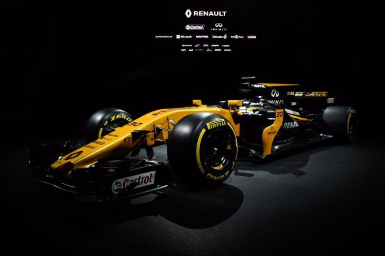 Dit is de nieuwe Renault R.S.17 F1-racer!