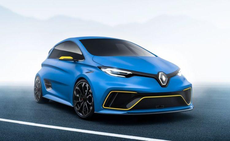 Renault presenteert de elektrische hot hatch van de toekomst