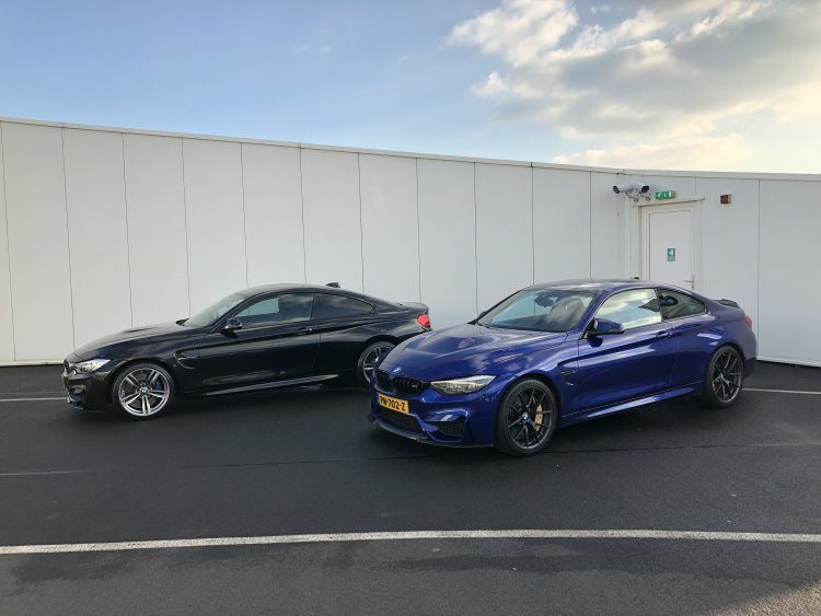 BMW M4 CS vs BMW M4