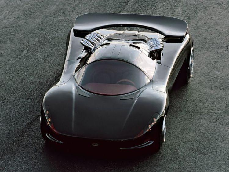 Deze concept car met V12 is ronduit bizar