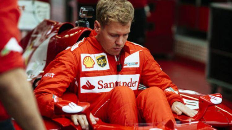 Vettel in Ferrari