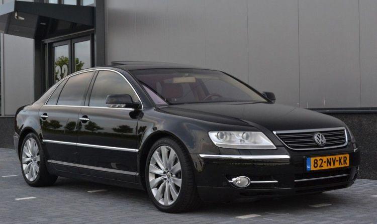Een VW Phaeton met W12, wat kost dat?