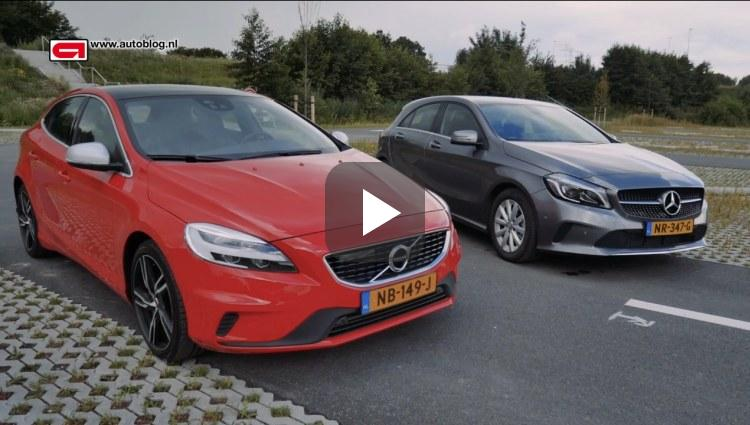 Volvo V40 T4 en Mercedes A180