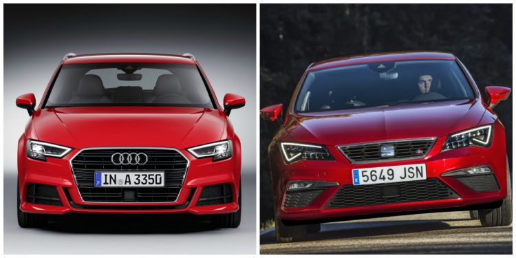Audi A3 - Seat Leon