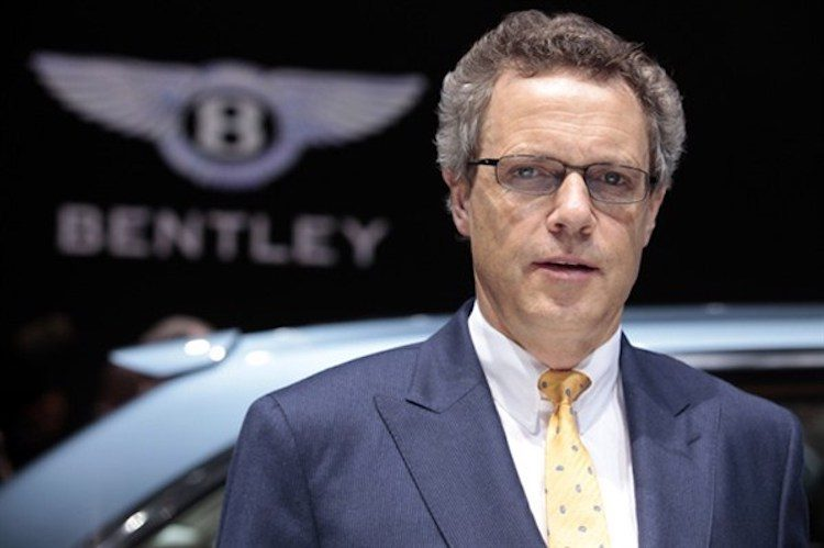 'CEO Bentley gaat vertrekken