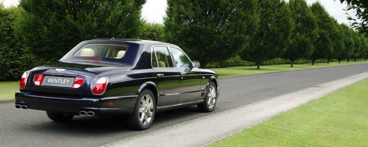 Bentley Arnage Blue Train