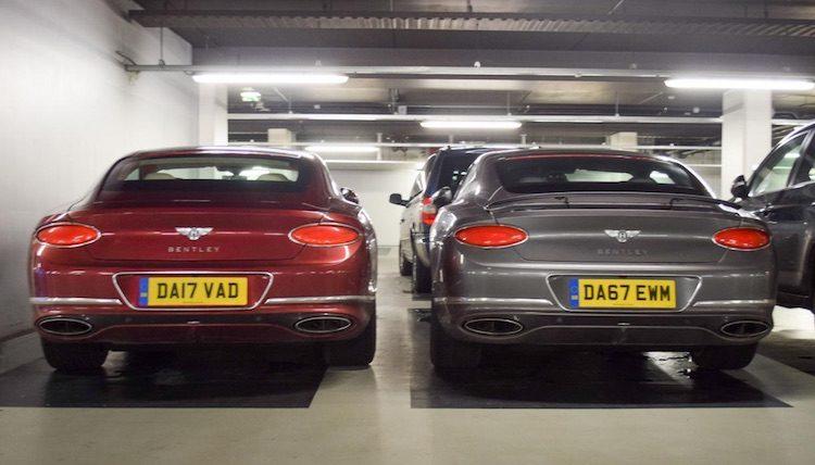 Gespot: de nieuwe Bentley Continental in het echt