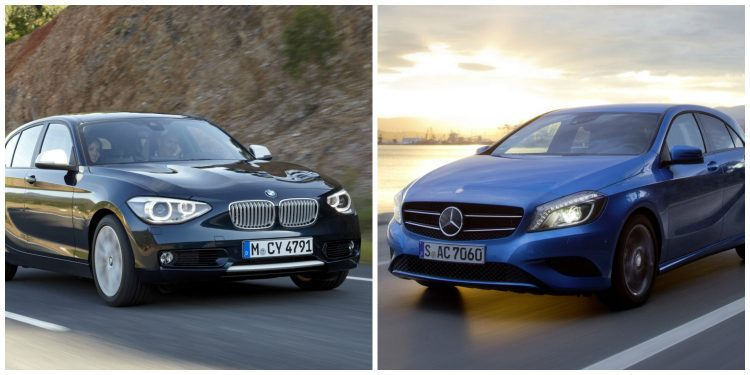 BMW 1 Serie - Mercedes-Benz A-Klasse