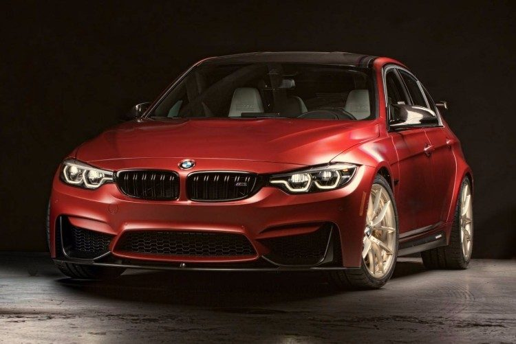 Unieke BMW M3 is een kleurenexplosie