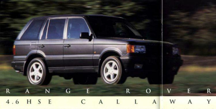 Callaway C11 - Land Rover Range Rover Callaway HSE