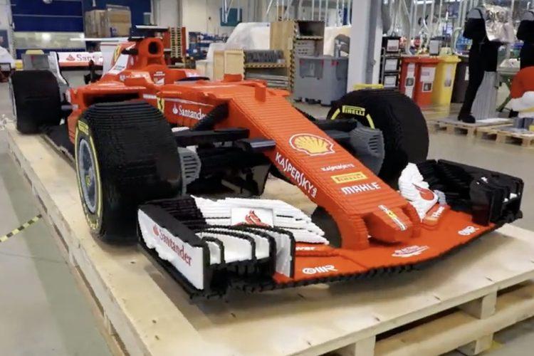 Lego F1 Car
