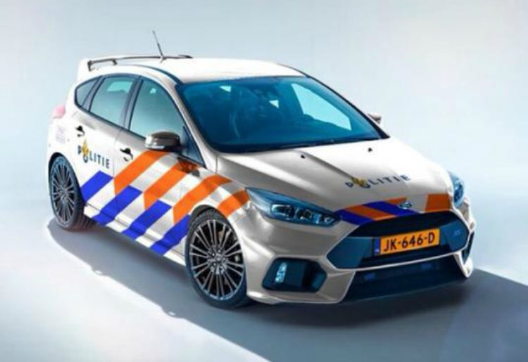 Ford Focus RS Politie