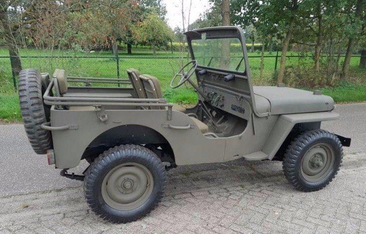 Marcheer naar Limburg en koop een militair voertuig