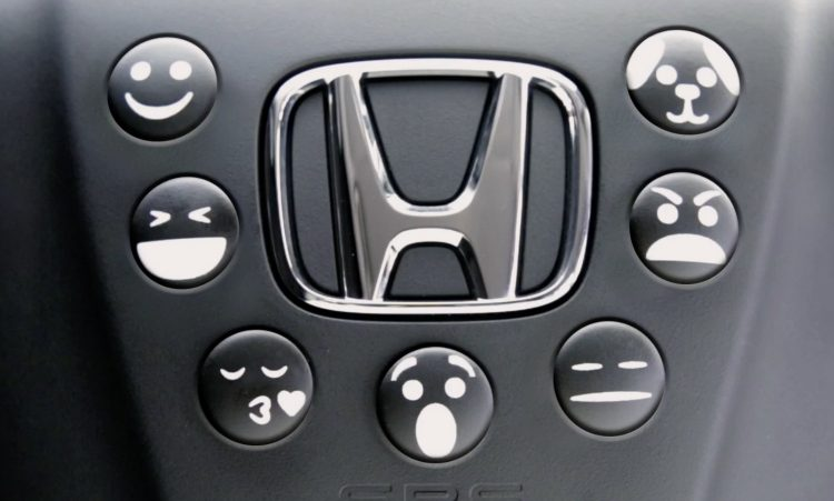 Honda Emoji Horn 1 April grap