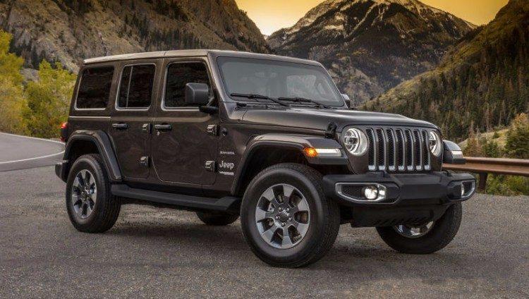 Eerste foto's van de nieuwe Jeep Wrangler
