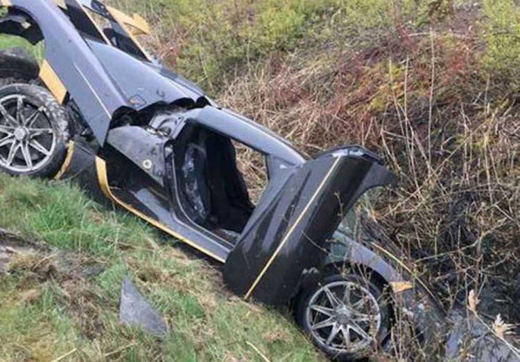 Auwie! Koenigsegg overleeft testrit niet