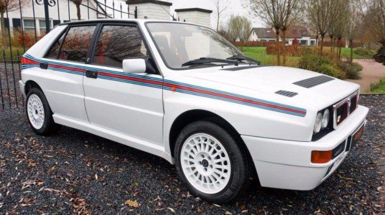 Kopen? Lancia Delta Integrale met Martini-streepjes