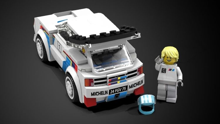 LEGO Peugeot 205 T16 Group B