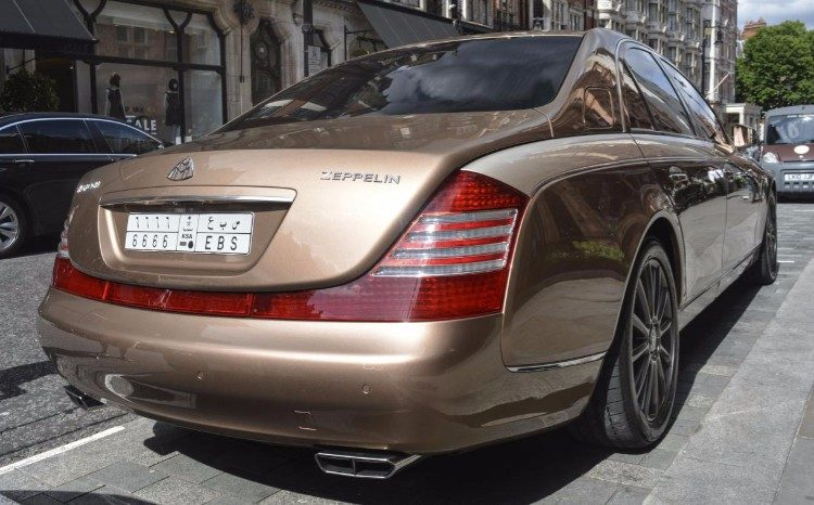 Maybach 57 S Zeppelin