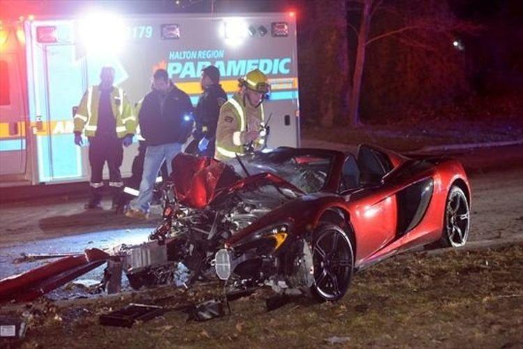 Dronken twintiger crasht sportwagen van drie ton