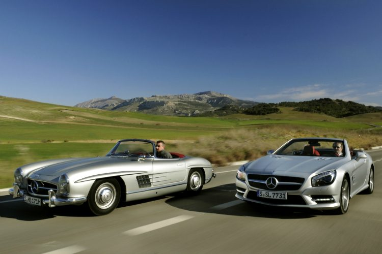 Mercedes-Benz 300 SL - SL500