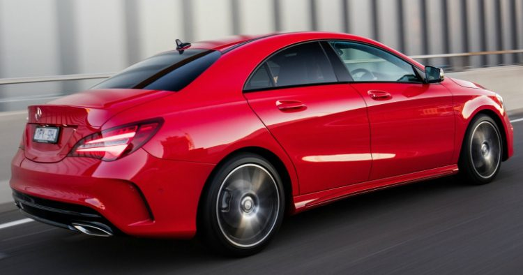 Mercedes-Benz CLA180d Business Solution AMG