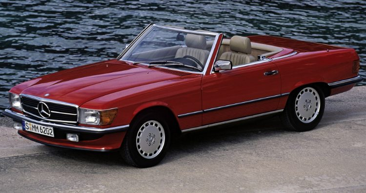 Mercedes-Benz 450 SL (R107)