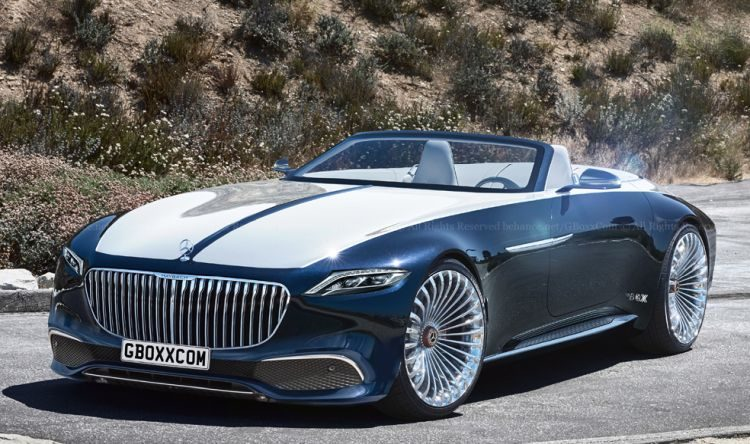 Mercedes-Maybach 6 Cabriolet kan zo in productie