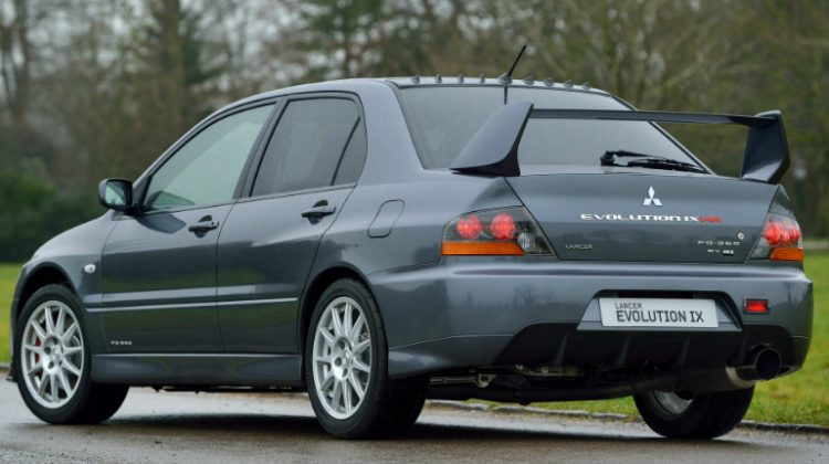Mitsubishi Lancer Evolution GSR MR FQ-360