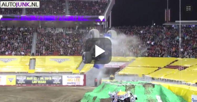 Video: monstertruck maakt betere salto