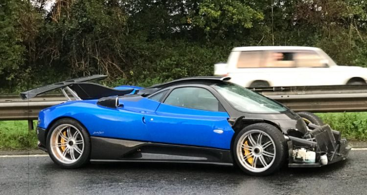 Ouch! One-off Pagani in de poeier gereden