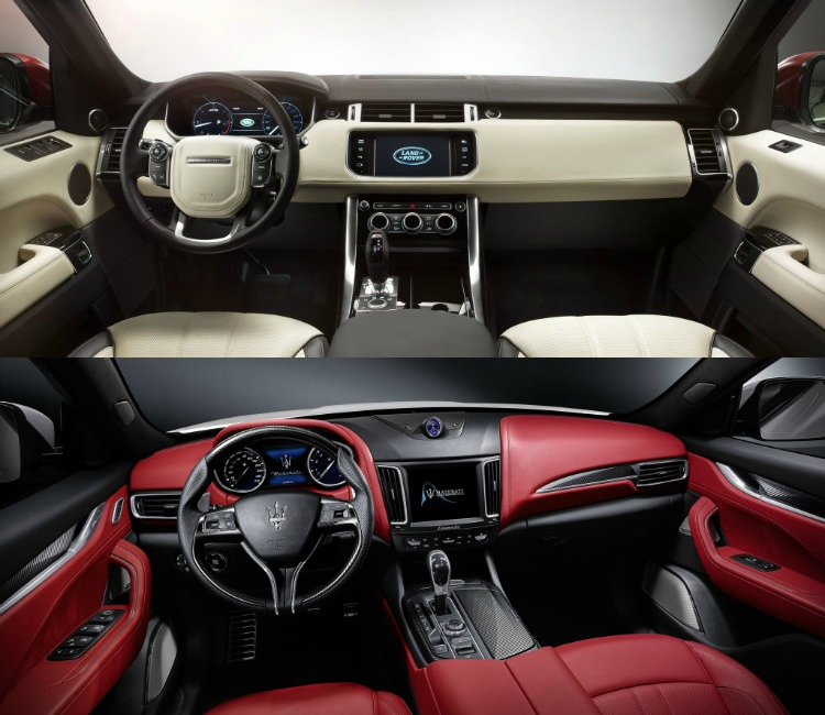Lease maar: Range Rover Sport of Maserati Levante ...