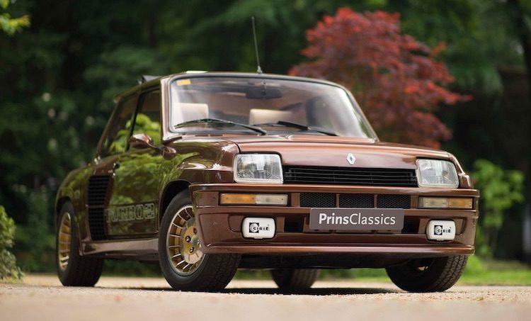 In NL aangeboden Renault 5 Turbo 2 kost 84.500 euro