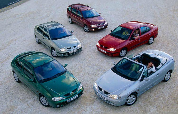 Renault Mégane model range
