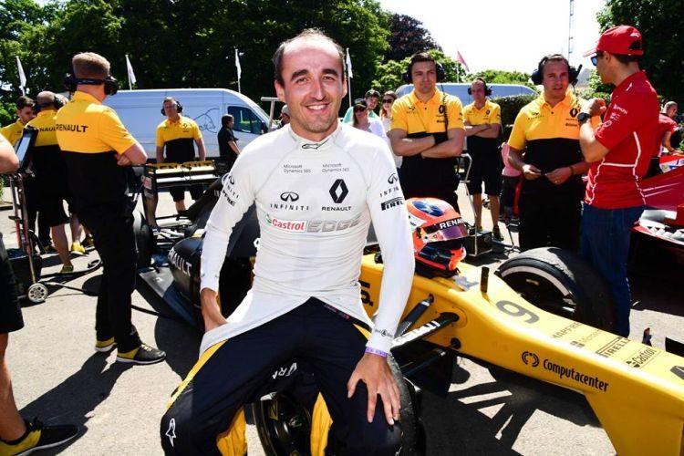 Komt Kubica dan toch terug bij Renault?
