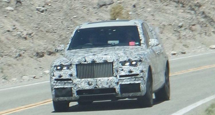 Spypics! De SUV van Rolls-Royce