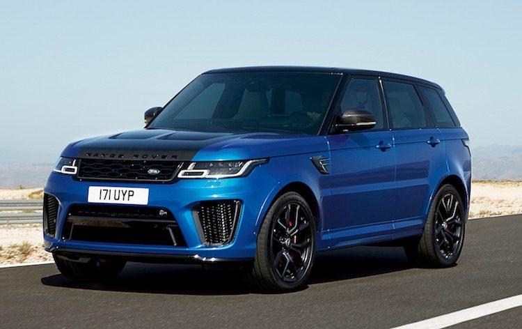 Range Rover Sport van update voorzien