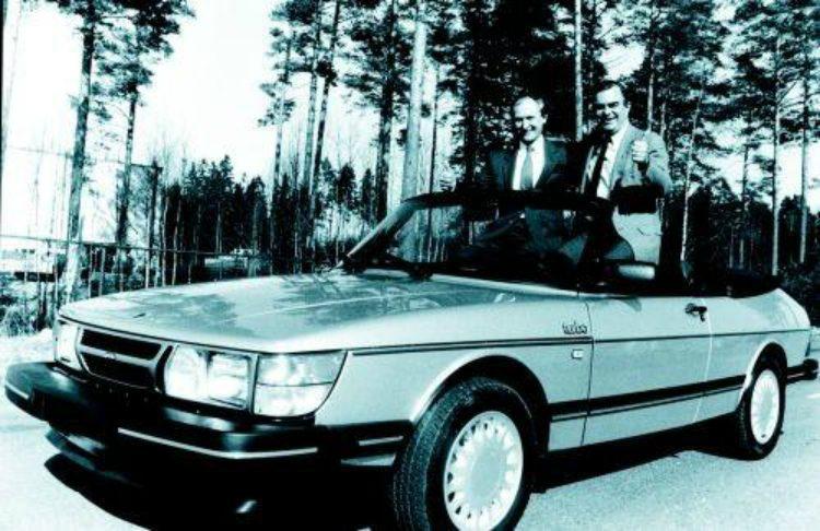 Rober Sinclair Saab 900 Cabriolet