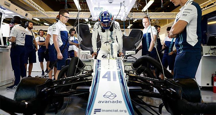 Sergey Sirotkin stapt in bij Williams