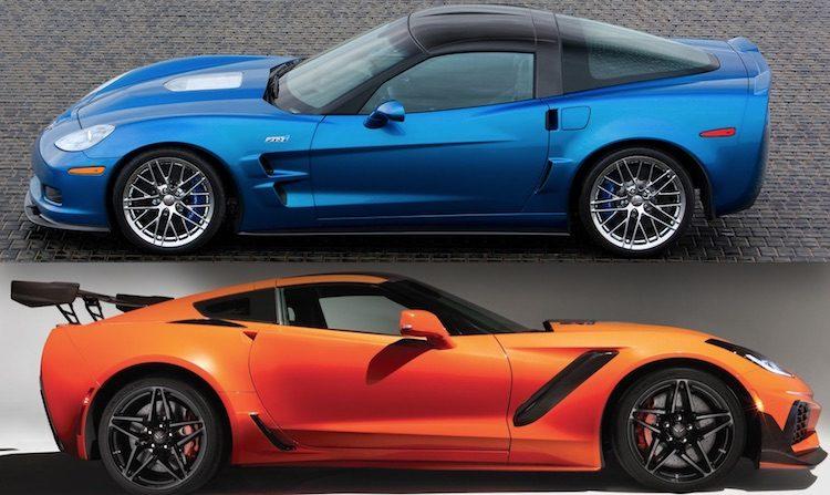 Vergelijking: nieuwe Corvette ZR1 vs de oude