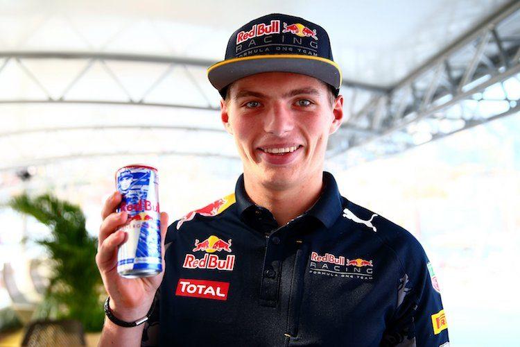 NL'ers drinken veel meer Red Bull, met dank aan Max Verstappen