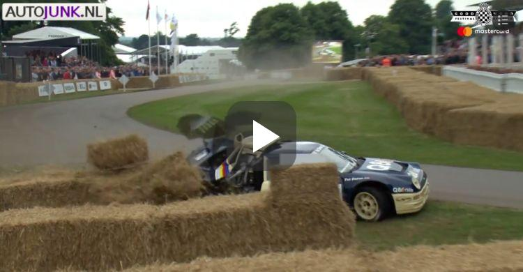 Video: de eerste (dure!) klapper van Goodwood 2017