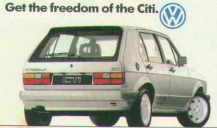 Volkswagen Citi Golf CTI