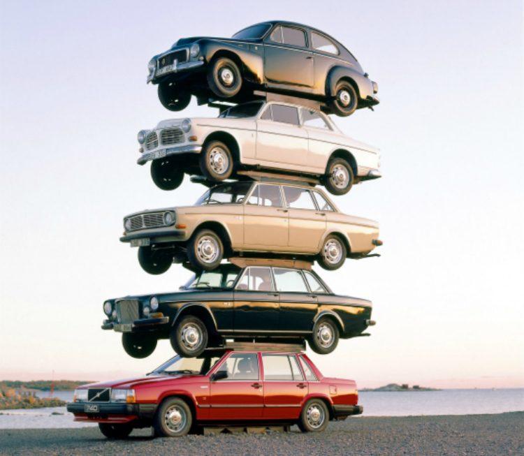 Volvo stapel