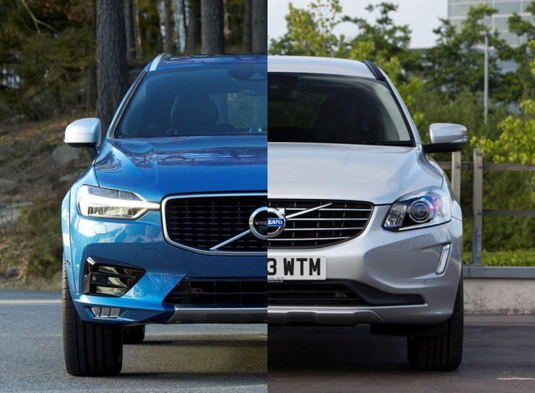 Vergelijking: de nieuwe Volvo XC60 vs de oude