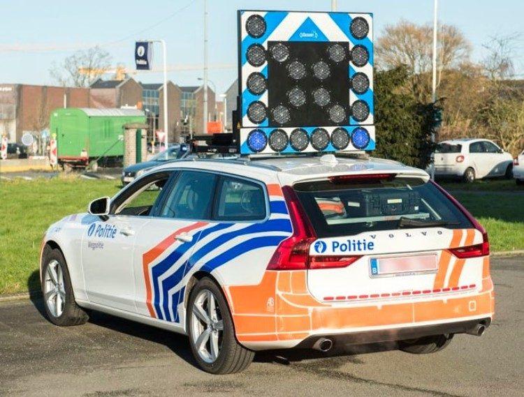 Belgische politie gaat in Zweedse stijl boeven vangen