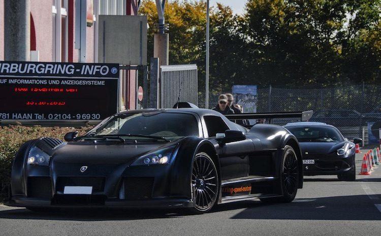 Lijstje: 10+ dikke supercars om en nabij de Nürburgring